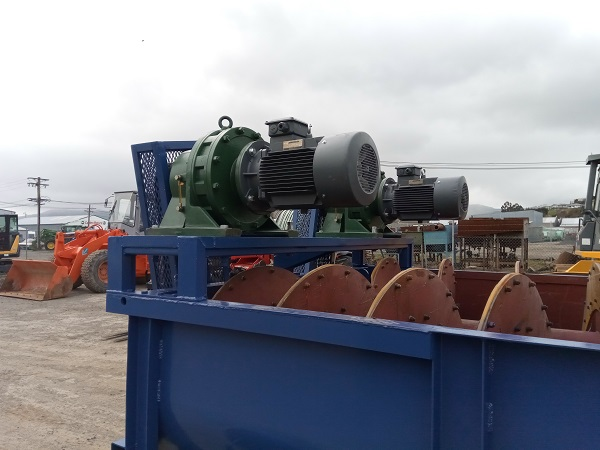 The features of LZZG sand washing plants